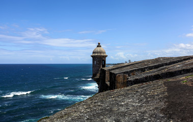 El Morro Fort and lighthouse