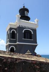 LIghthouse at  El Morro, San Juan