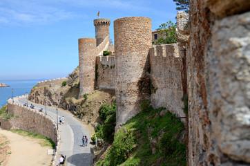 Tossa de Mar, Fortress and Sea