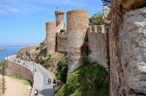 Tossa de Mar, Fortress and Sea