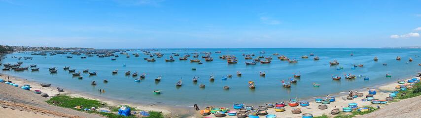 Fishing village, panorama