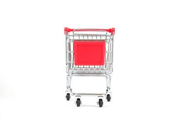 Einkaufswagen von vorne