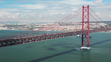 Portugal. Lisbon. 25th of April Bridge