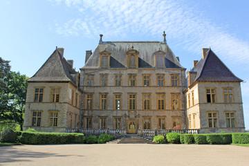 Cour chateau de fléchéres