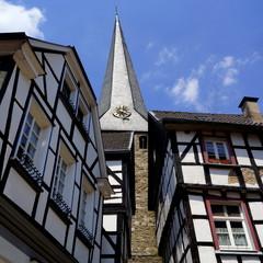 HATTINGEN a.d.Ruhr - historische Altstadt