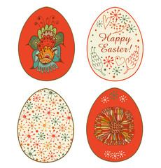 Collection of templates for eggs design