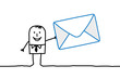man & mail