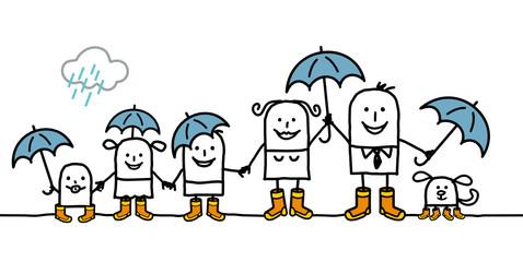 rain & family