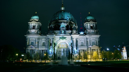 Berlin Cathedral (German: Berliner Dom), time lapse