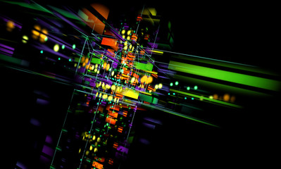 fondo tecnologico abstracto.