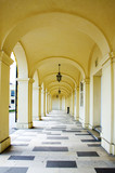 Arcade gallery of Schoenbrunn palace in Wien - 53427494