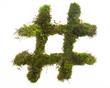 Moss Hashtag
