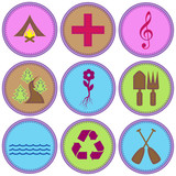 Girl Themed Merit Badges