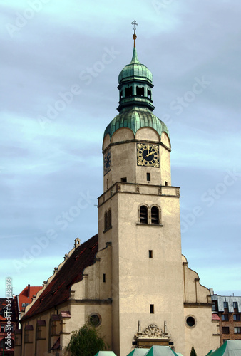 church tower in Poznan, Poland © GKor