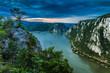 Leinwanddruck Bild - The Danube Gorges