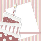 Scrapbooking cake - place your text