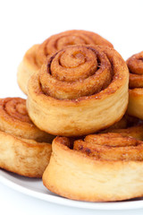 Cinnamon rolls group