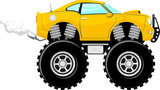 4x4 sport car cartoon