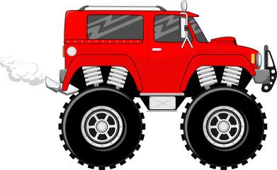 big wheels monstertruck cartoon