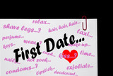 First Date - Relationships. poster