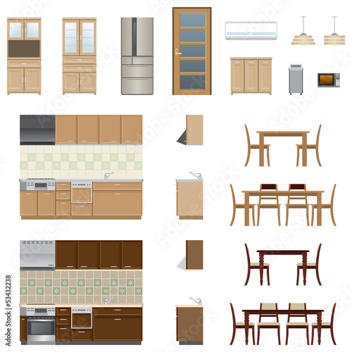 Kitchen Furniture / Type1