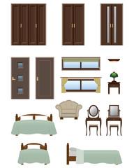 Bedroom furniture / Type2