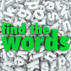 Find the Words Wordsearch Puzzle Game Challenge