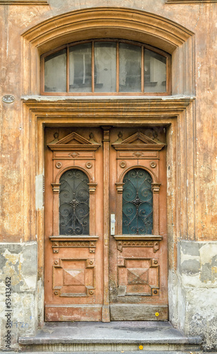 Old European Door