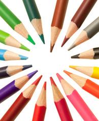 coeur de crayons