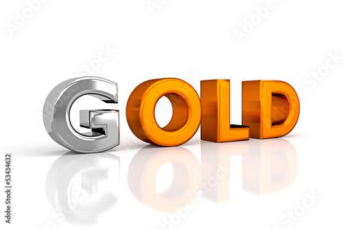 G_OLD/ Begriff: Gold vs OLD - 3D