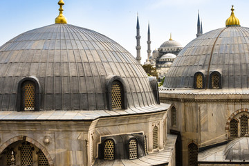 Blue ( Sultan Ahmed ) Mosque, Istanbul, Turkey
