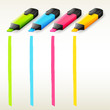 Colorful highlighters