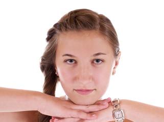 Mädchen im Portrait