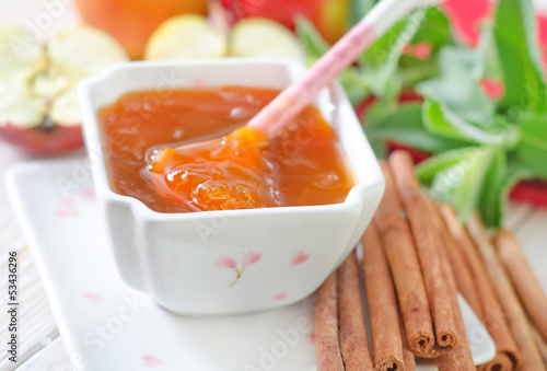apples and jam