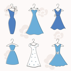 Evening and Cocktail Dresses Set