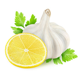 Garlic, lemon and parsley (gremolata ingredients)