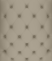 Sepia picture of genuine softly gray fabric upholstery