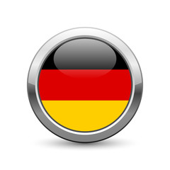 German flag icon web button