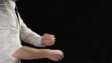 Boxing businessman.  Find similar clips in our portfolio.