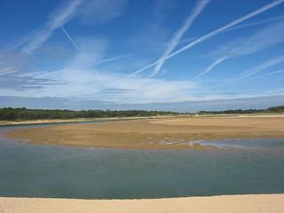 Strand in frankreichs Atlantikküste Vendée 8