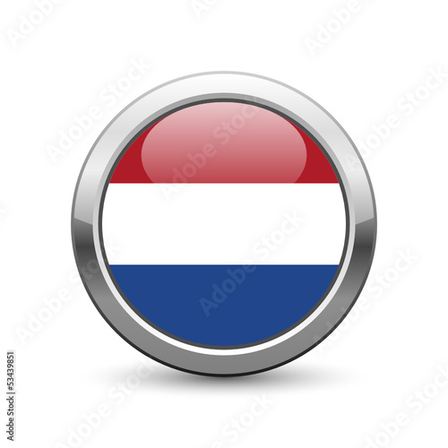 Dutch flag icon web button