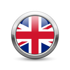 United Kingdom flag icon web button