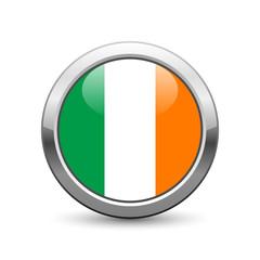 Irish flag icon web button