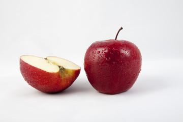 połówka jabłka