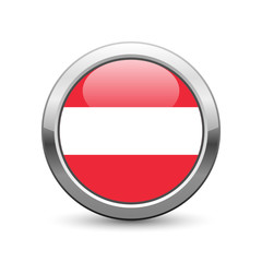 Austrian flag icon web button