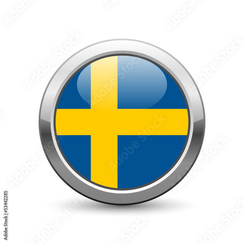 Swedish flag icon web button