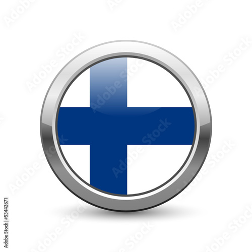 Finnish flag icon web button