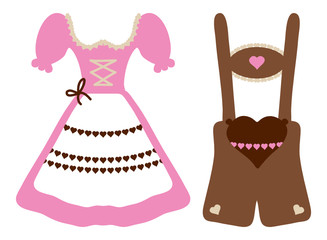 Octoberfest Dirndl & Leather Trousers