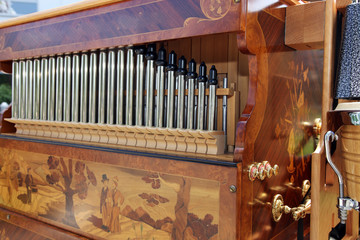 Beautiful pipe organ