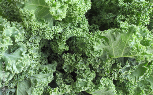 Close-up of a bunch of kale at a local farmer's market